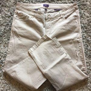 NYDJ, size 14W, Ankle cut jeans.